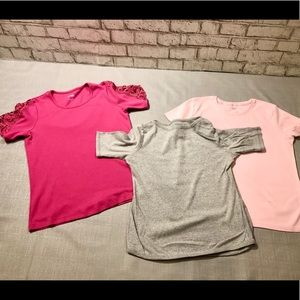 3 Short Sleeve Womens Tops Bundle Small Nordstrom